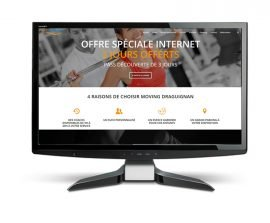 Site internet pour club de fitness
